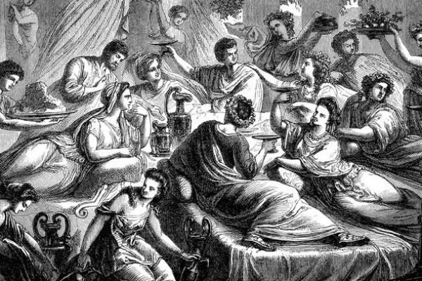 Fakta Fakta Yang Ada Dalam Romawi Kuno Dalam Suatu Pesta Atau Perjamuan