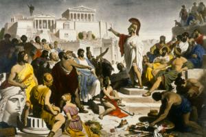 Kehidupan Pada Masa Yunani Kuno Atau Romawi Kuno