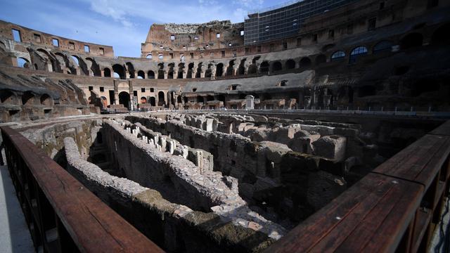 Pembukaan Ruang Bawah Tanah Di Colosseum Untuk Pertama Kalinya
