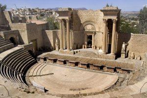 Terdapat Situs Peninggalan Yang Terdapat Di Ajazair Oleh Bangsa Romawi